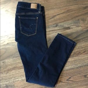 American Eagle skinny jeans 4 short.